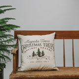 Magnolia Farms Christmas Trees Pillow Chip Joanna Gaines