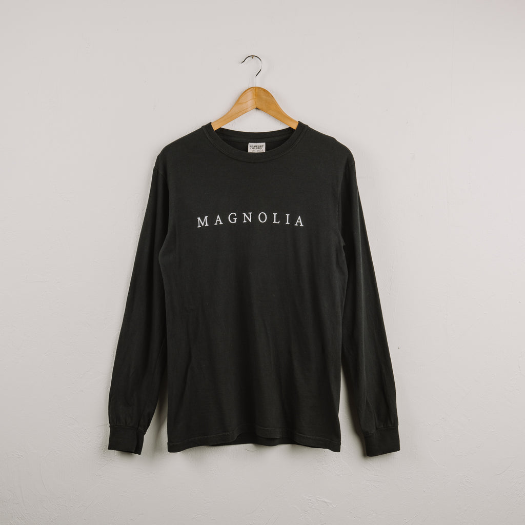 Black Magnolia Long Sleeve Shirt