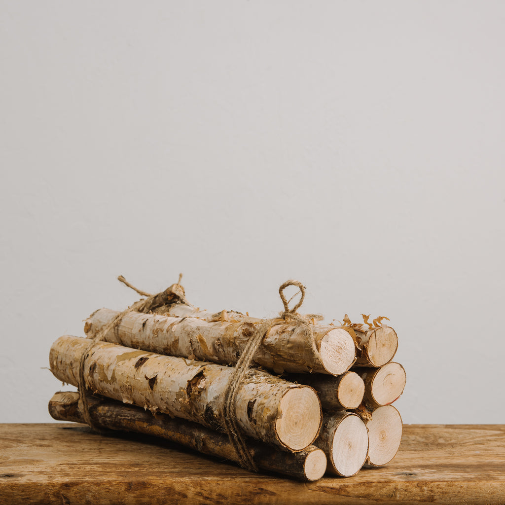 Magnolia Birch Logs