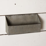 Galvanized Box Wall Shelf