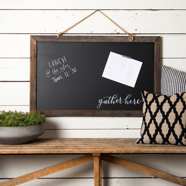 Thank You Blackboard Scented Hanging Decoration