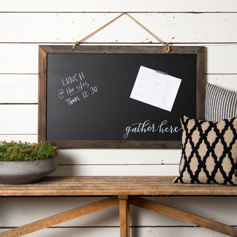 Schoolhouse Blackboard