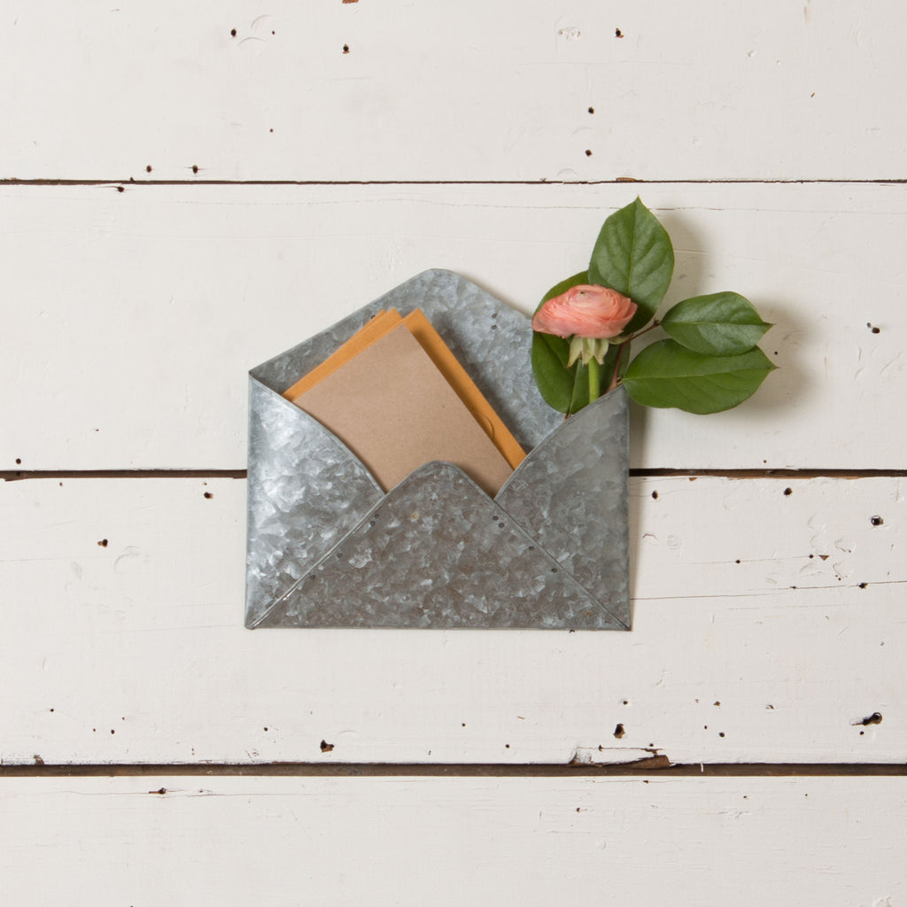 Galvanized Tin Envelope