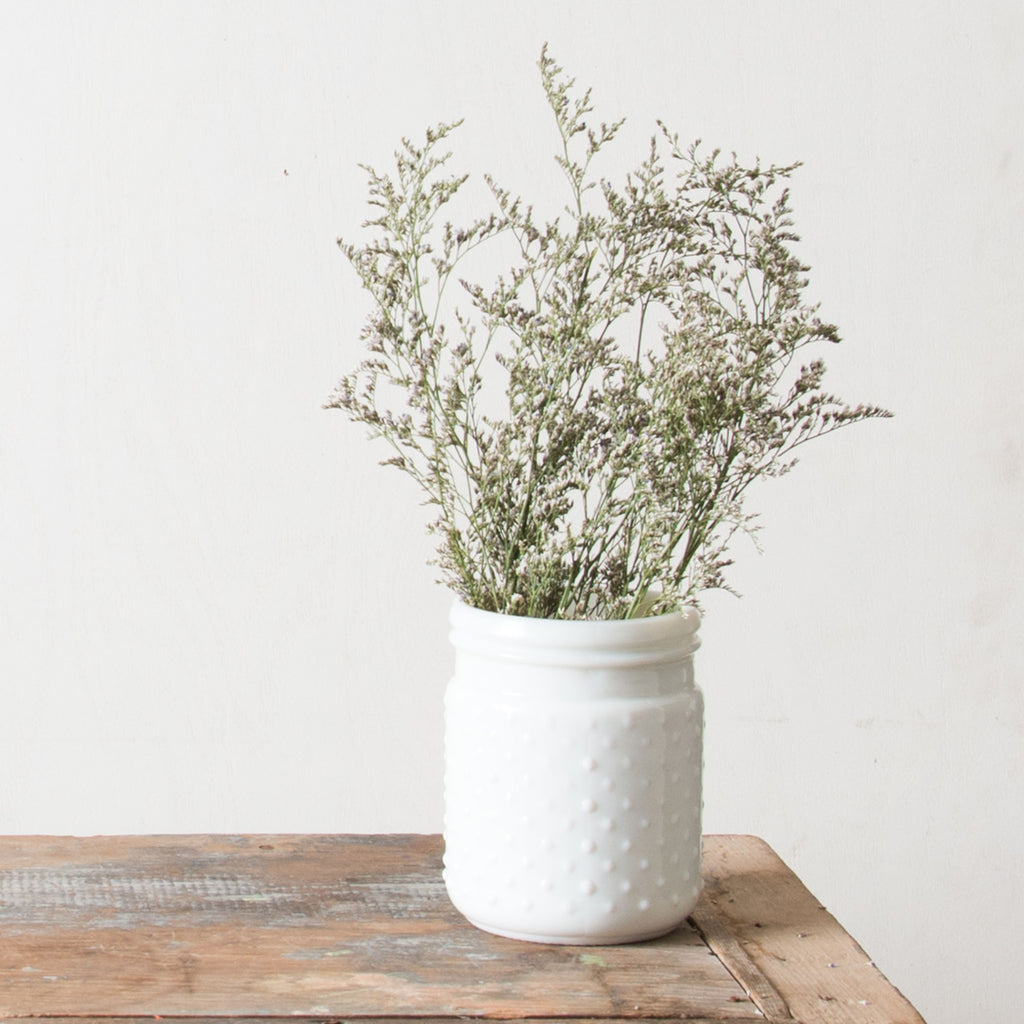 White hobnail jar magnolia chip joanna gaines white hobnail jar reviewsmspy