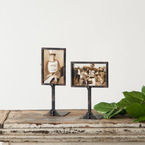Black Bin Photo Frame