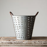 Antique Olive Bucket