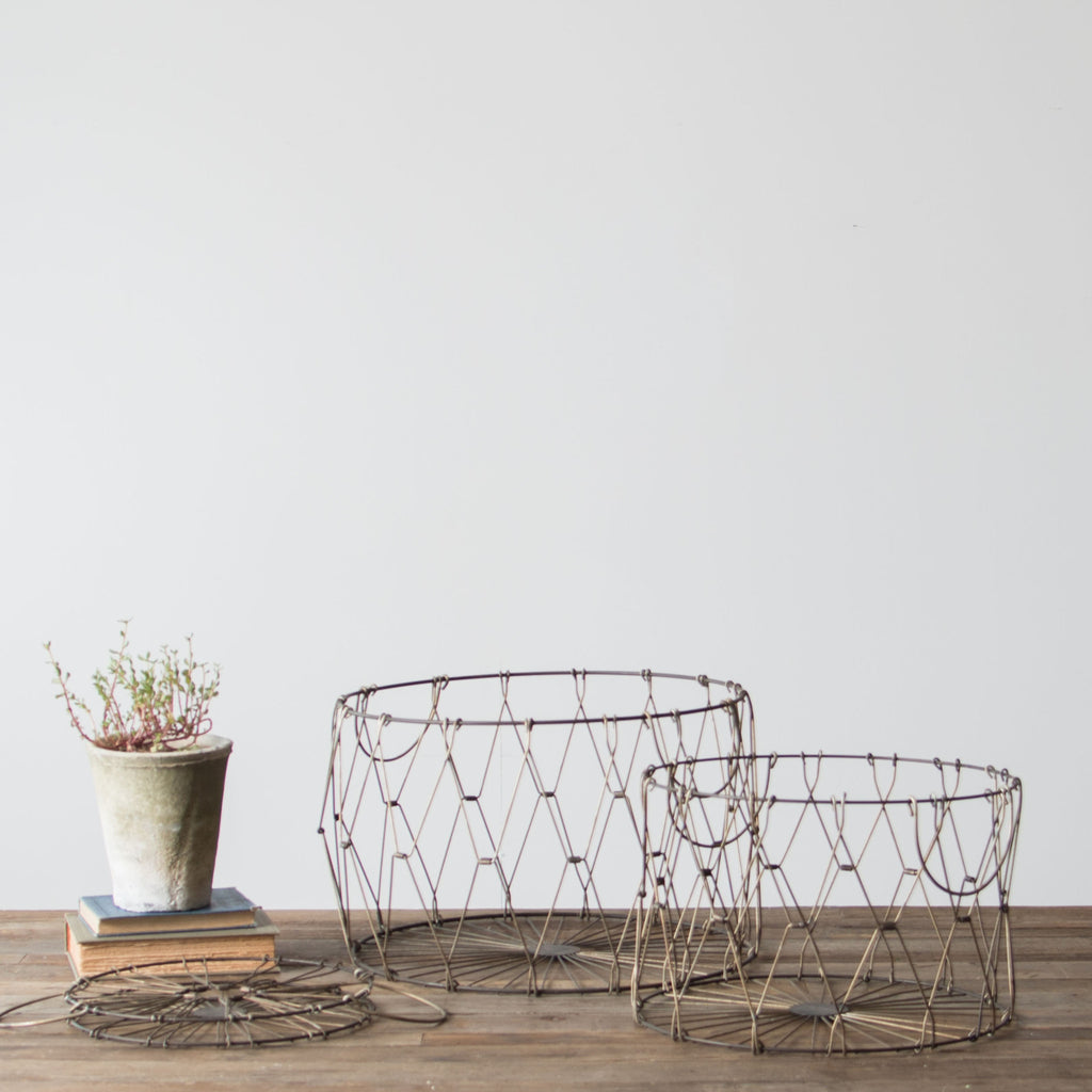 Collapsible Metal Baskets