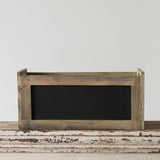 Horizontal Blackboard Crates