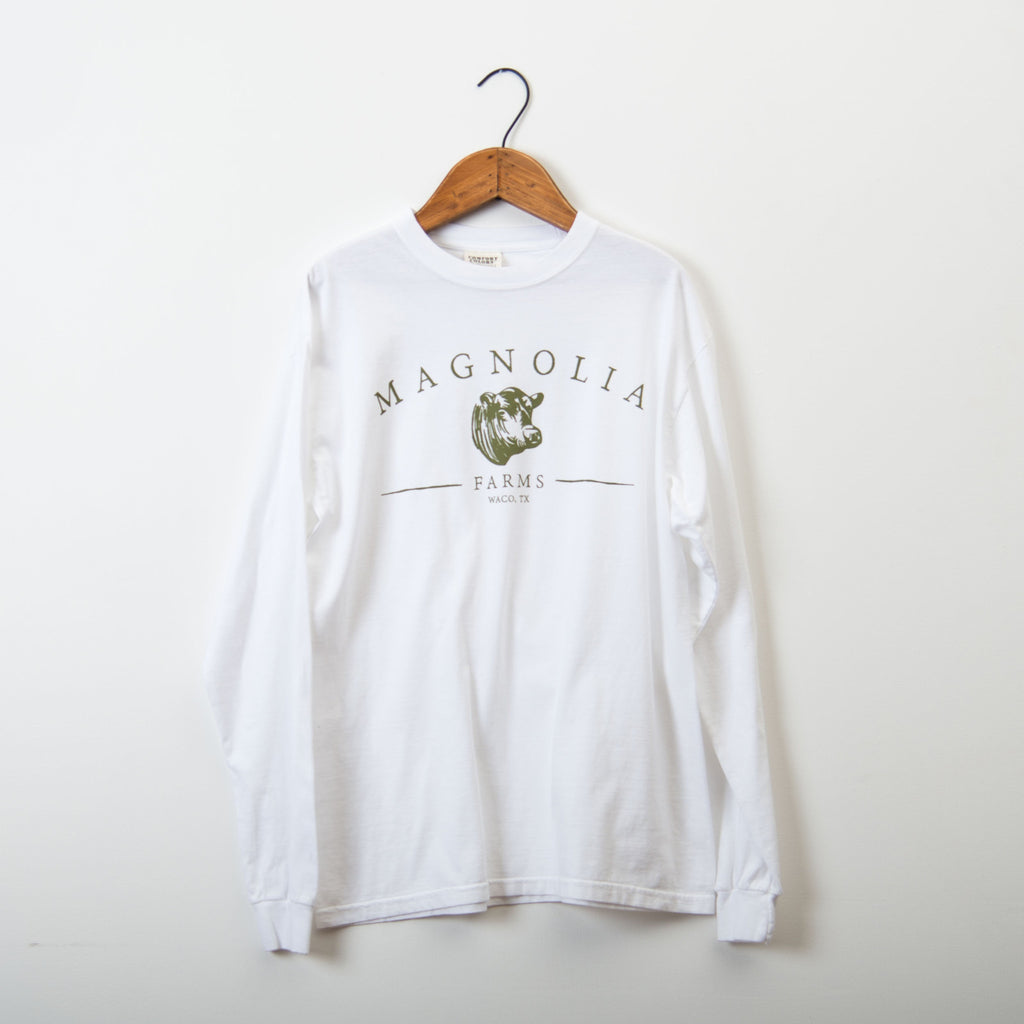 White Magnolia Farms Long Sleeve Shirt