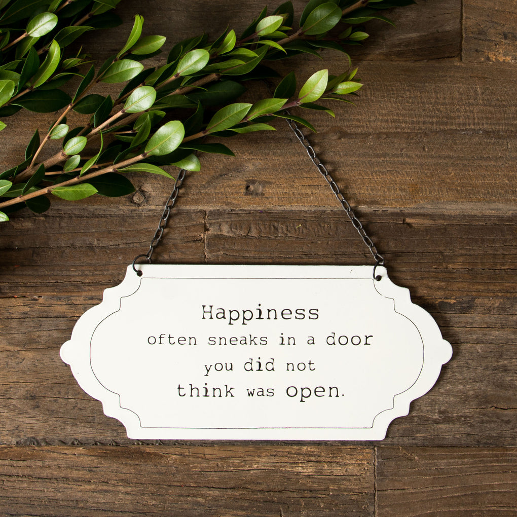 """Happiness"" Sign"