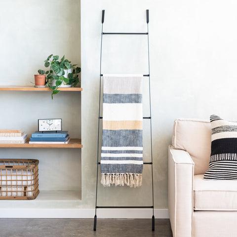 decorative metal display ladder
