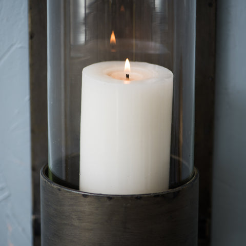 Metal Wall Mount Candle Hurricane