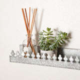 Galvanized Crown Shelf