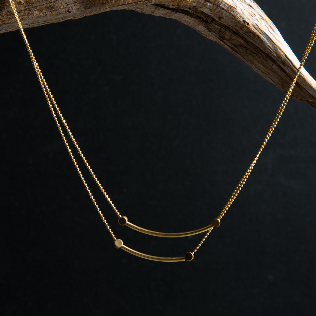 Two Infinites Necklace