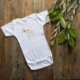 Magnolia Farm Animal Baby Onesie