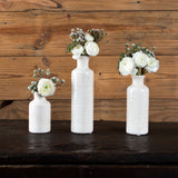 White Assorted Vase