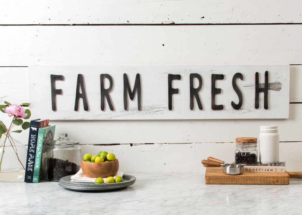 """Farm Fresh"" Sign"