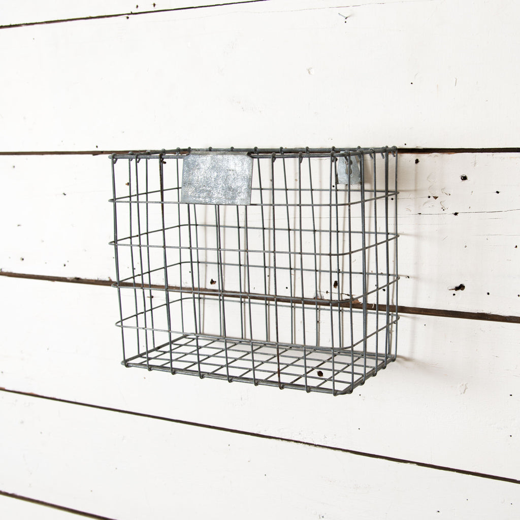Wire Wall File Basket