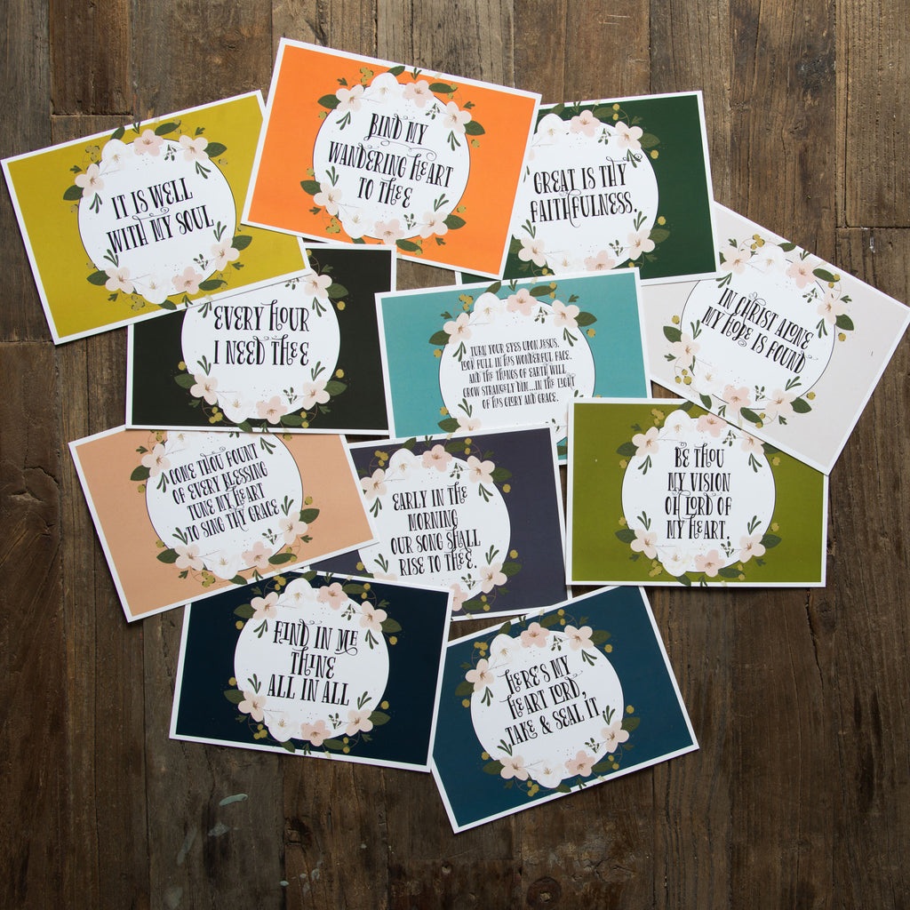 Hymn Cards Magnolia Chip Joanna Gaines