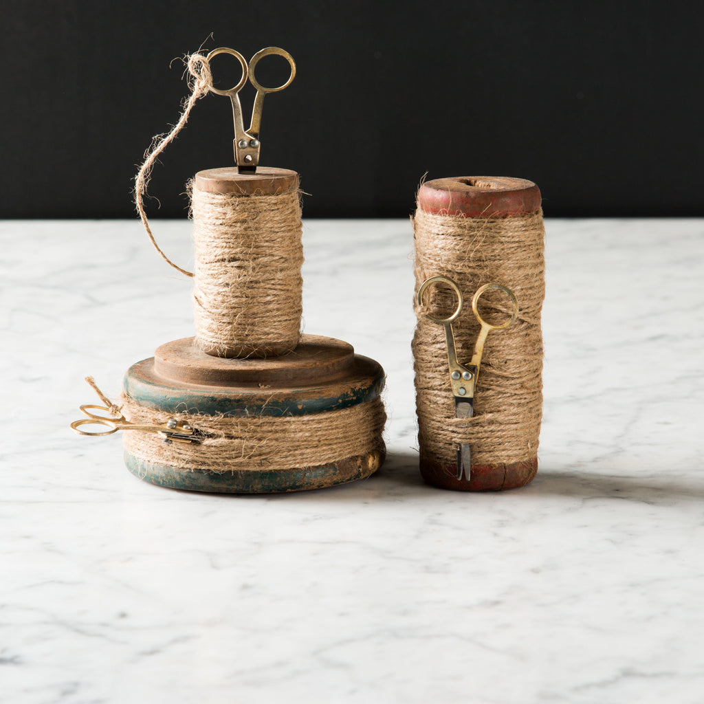 Twine Spools with Scissors