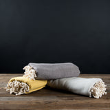 Organic Herringbone Throw
