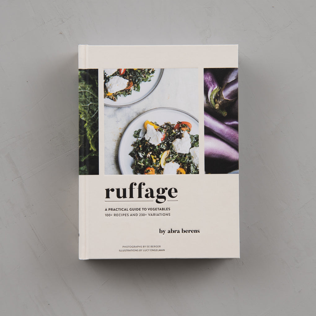 ruffage cookbook about vegetables