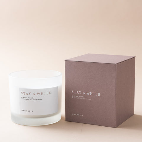 Stay a While Candle