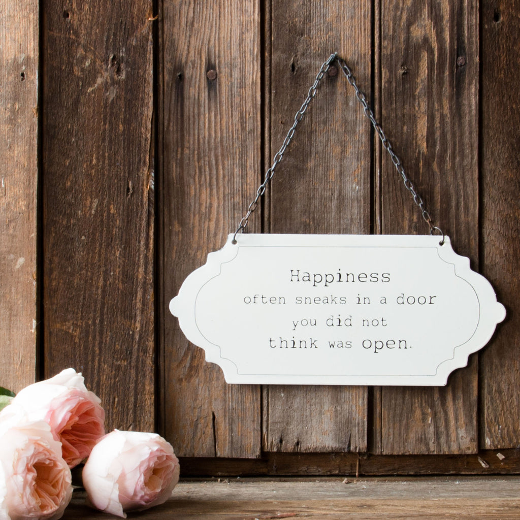 Quot Happiness Quot Sign Magnolia Chip Amp Joanna Gaines
