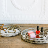 French Mirrored Trivets