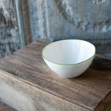 Green Rimmed Dinnerware