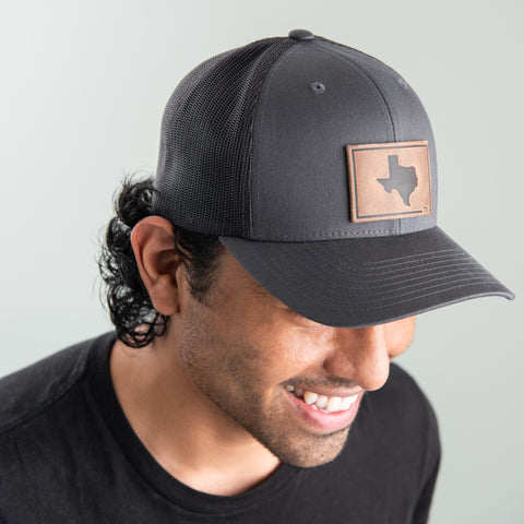 Charcoal Texas Hat