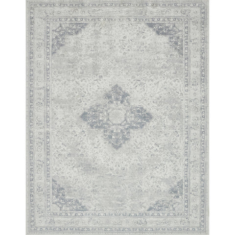 ivory and light blue traditional rug