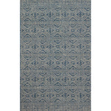 modern blue and grey indoor/outdoor rug