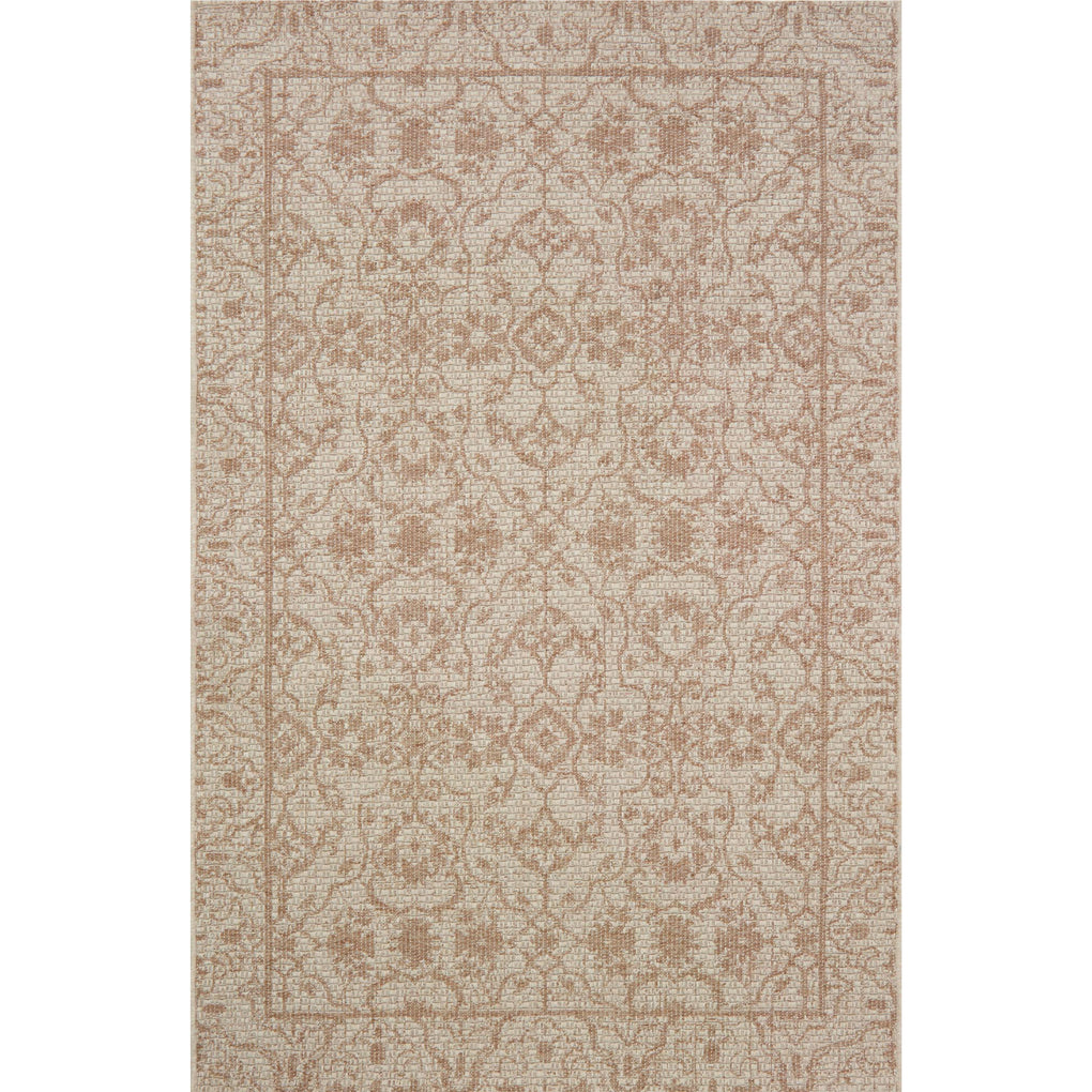 brown and tan traditional patterned rug