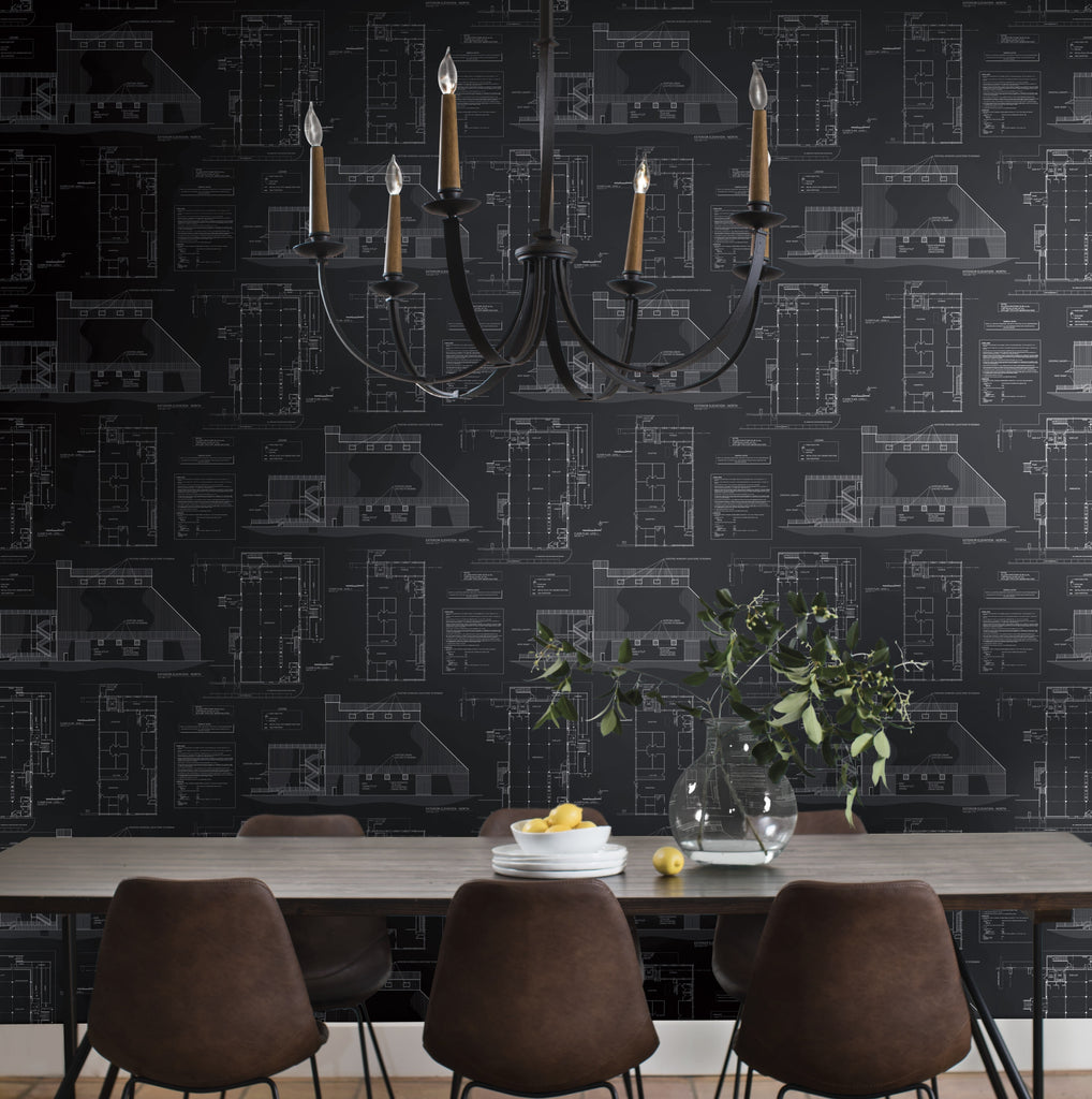 Blueprints wallpaper magnolia joanna chip gaines blueprints wallpaper malvernweather Choice Image