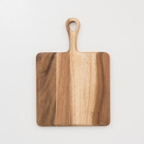 Acacia Square Handled Board