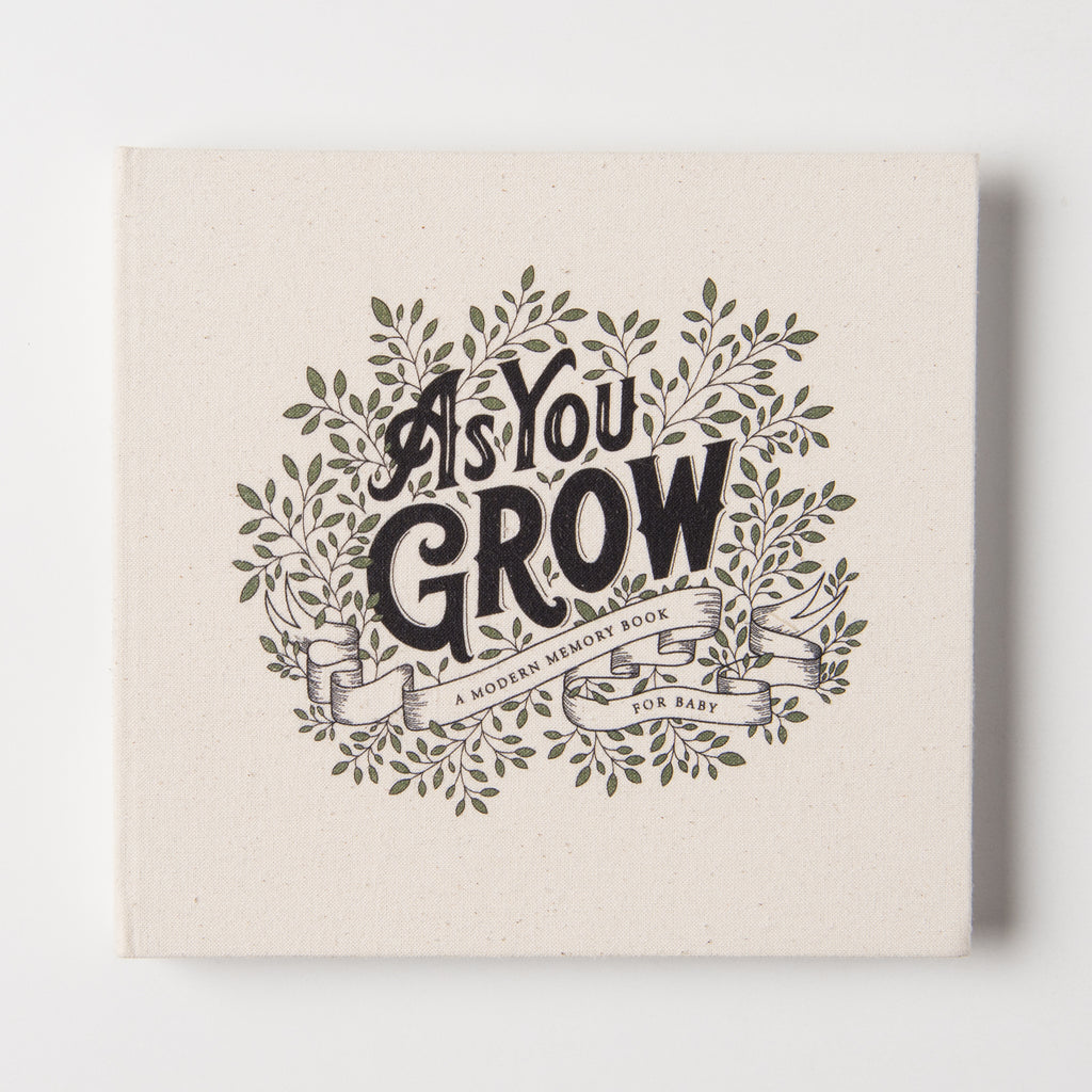 as you grow baby book