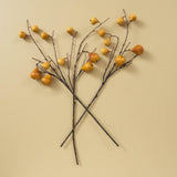 faux autumn pear stem