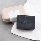 activated charcoal cleanse bar by Nash and Jones