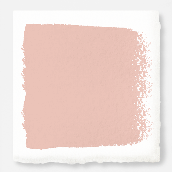 Muted salmon pink exterior paint