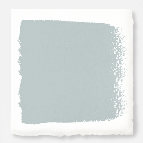 Soft cool gray exterior paint