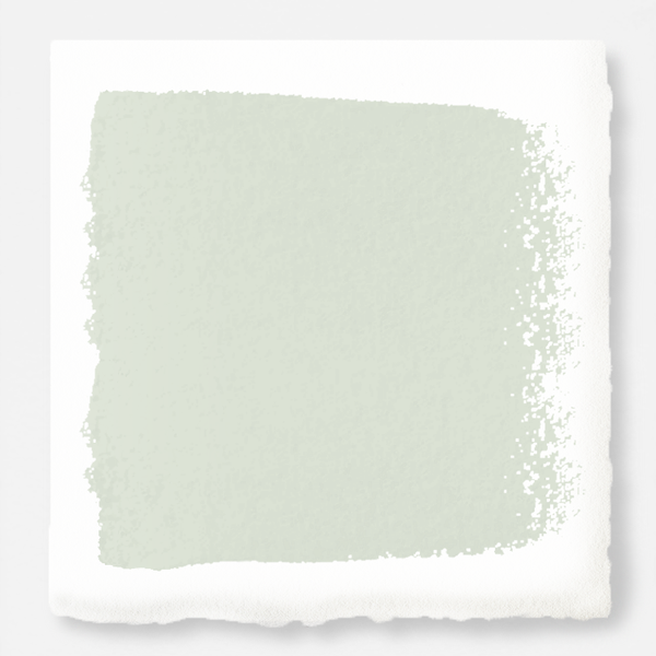 Almost white with gray and green undertones exterior paint