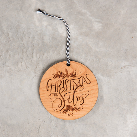 2018 Christmas at the Silos Ornament