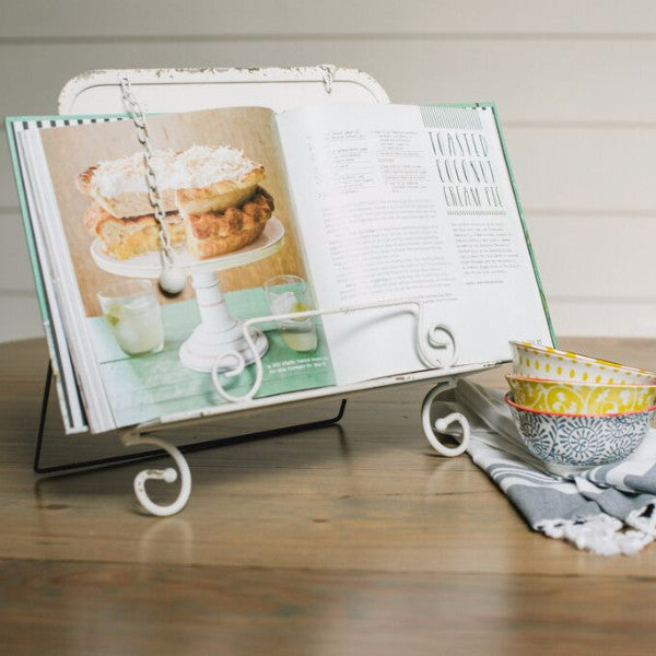 Metal Cookbook Holder