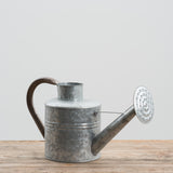rustic galvanized watering can vessel