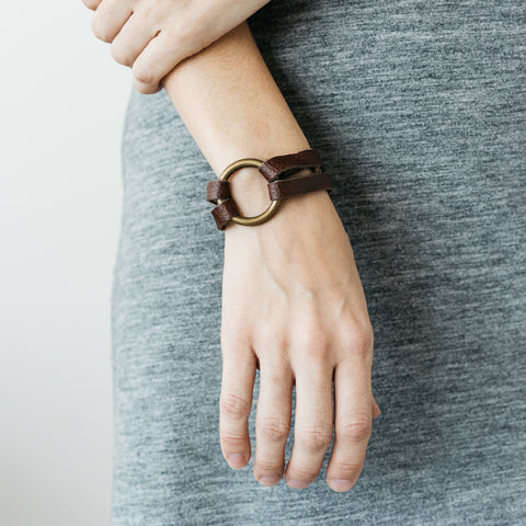 Mini Leather Bracelet