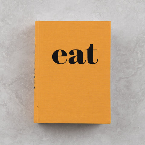 "cookbook titled ""Eat"" by Nigel Slater"