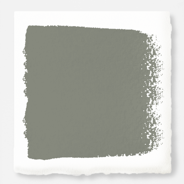 Pale ivy green exterior paint