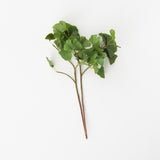 faux ginkgo leaf stem