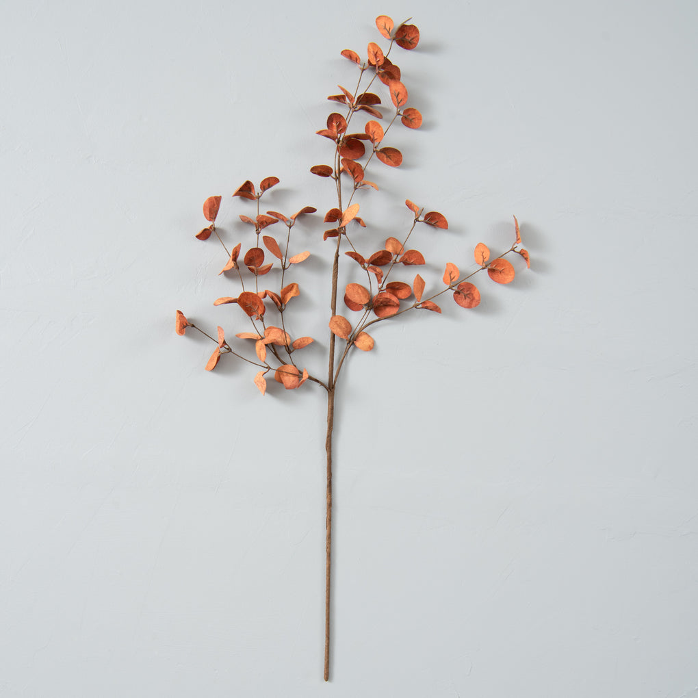 faux sienna eucalyptus spray stem